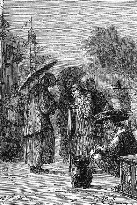 Passepartout remarqua un certain nombre d'indigènes…