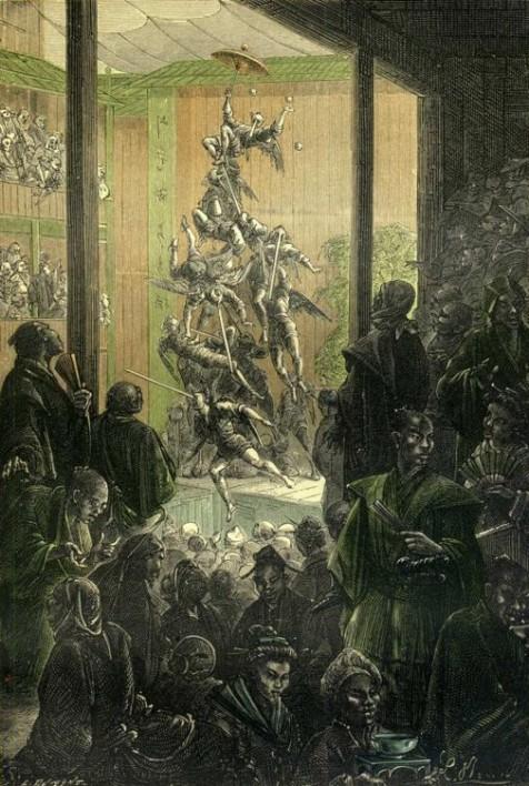 Le monument s'écroula comme un château de cartes.
