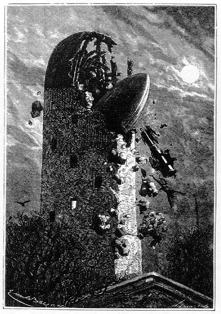 """""""...con tal de que cayéramos encima del observatorio de Cambridge..."""""""