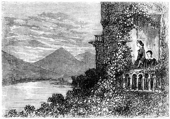 Miss Grant y su hermano quedaron aguardando en Malcolm Castle que Lord Glenarvan estuviese de vuelta