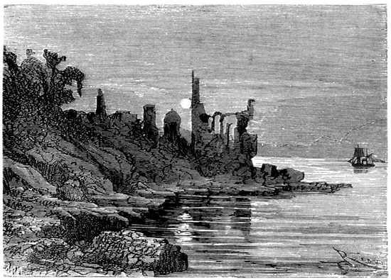 Las ruinas de una ciudad que había envejecido siglos en sólo seis años de existencia.