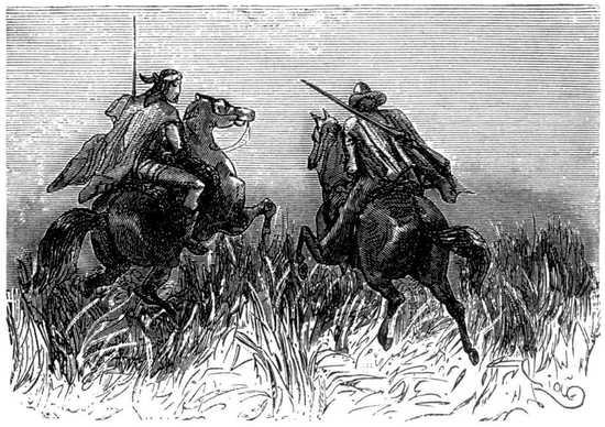 Thalcave y Glenarvan no tardaron en reunirse al destacamento conducido por Paganel.