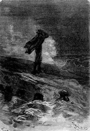 Miraba, escuchaba y hasta hubo momentos en que le pareció sorprender en el mar un resplandor indeciso.