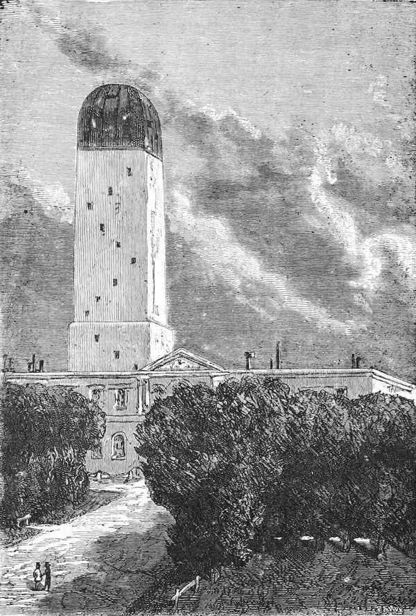 El observatorio de Cambridge