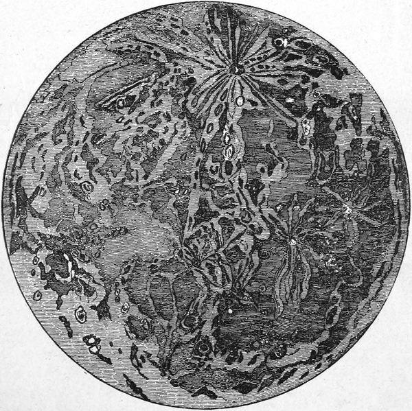 Vista de la Luna