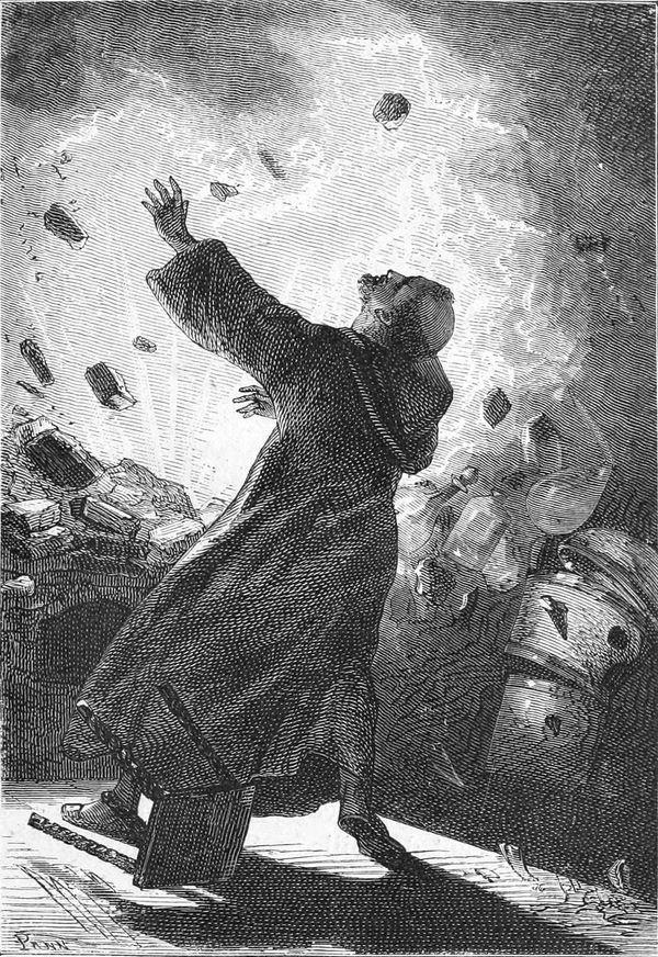 El monje Schwartz inventó la pólvora