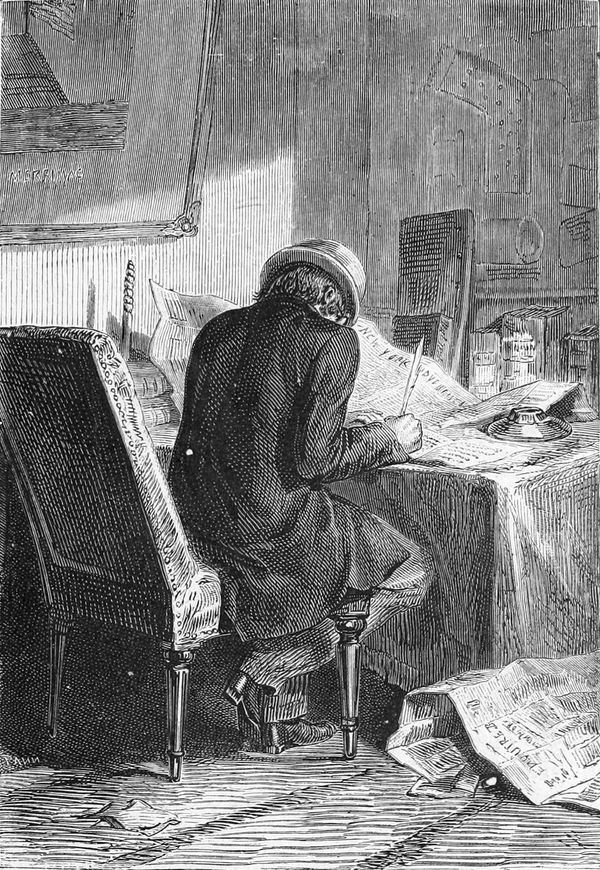 Nicholl publicaba numerosas cartas