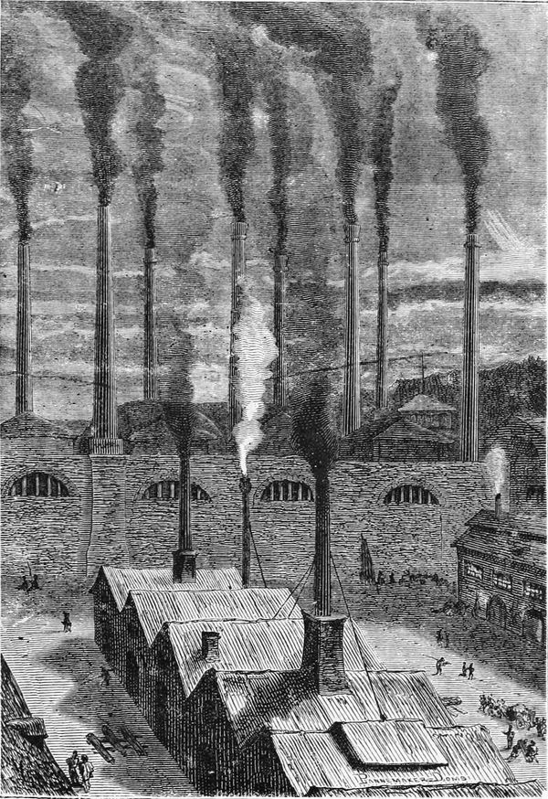 La fábrica Goldspring, cerca de Nueva York