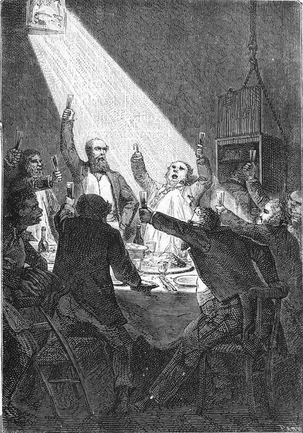 El festín del Columbiad