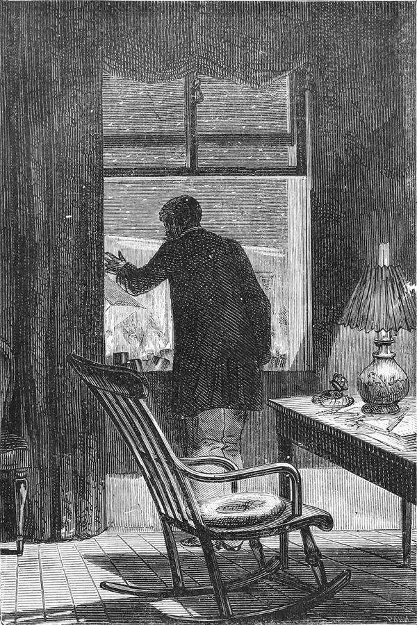 El presidente Barbicane en su ventana