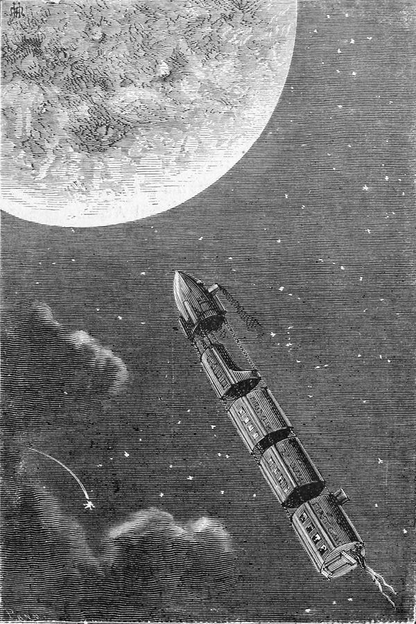 El tren de proyectiles con destino a la Luna