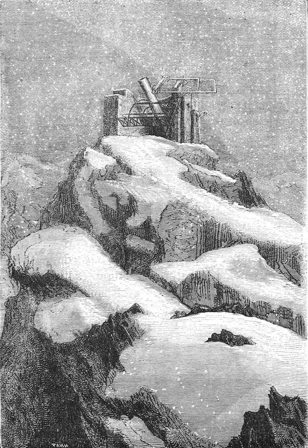 El telescopio de las Montañas Rocosas