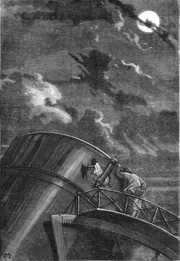 El director del observatorio de Cambridge ocupaba su puesto