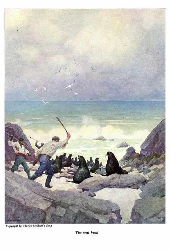 La caza de focas