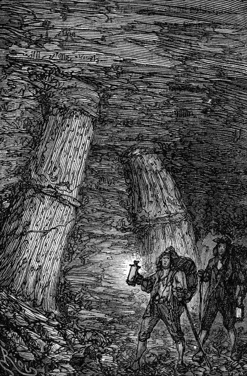 «¡Una mina de carbón!», exclamé.