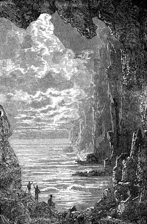 Una vasta capa de agua se extendía hasta perderse de vista